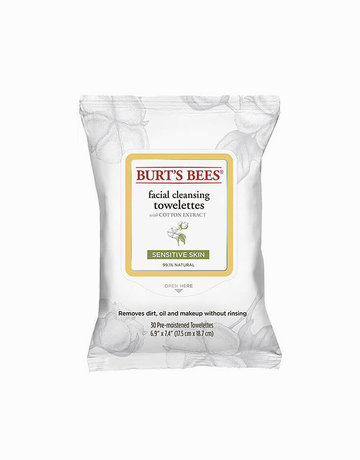 Sensitive Facial Cleansing Towelettes by Burt's Bees