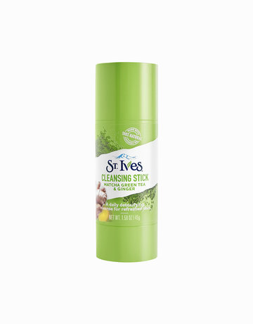 Matcha & Ginger Facial Cleansing Stick by St. Ives