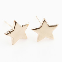 Gold Star Stud Earrings by Timi