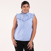 Mendi Ruffle Top by Chelsea