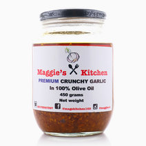 Premium Crunchy Garlic in 100% Olive Oil (450g) by Maggie's Kitchen
