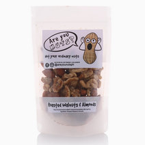 Roasted Walnuts and Almond (100g) by Are you NUTS?