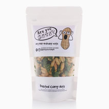 Regular Roasted Curry Nuts (160g) by Are you NUTS?