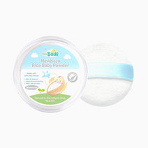 Fragrance-Free Rice Baby Powder with Puff by Tiny Buds