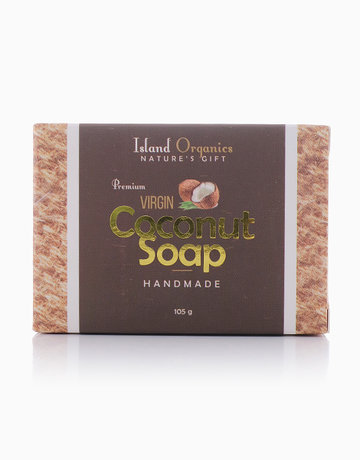 Premium Virgin Coconut Soap (105g) by Island Organics
