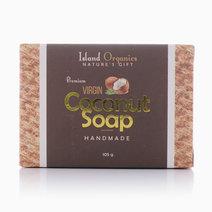 Premium Virgin Coconut Soap (105g) by Island Organics in