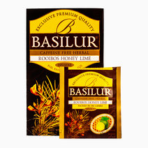 Rooibos Honey Lime Herbal Tea by Basilur