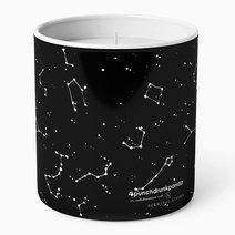 Constellation Scented Candle by Punchdrunk Panda in