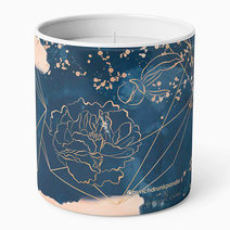 Midnight Blush Scented Candle by Punchdrunk Panda in