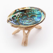 Abalone Shell (with Tripod) by The Sacred Smudge