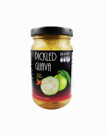 Spicy Pickled Guava (250g) by Pik-A-Pikel