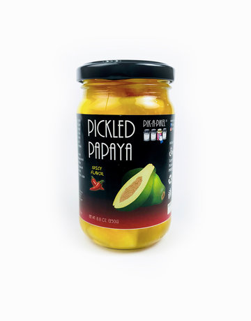 Spicy Pickled Papaya (250g) by Pik-A-Pikel