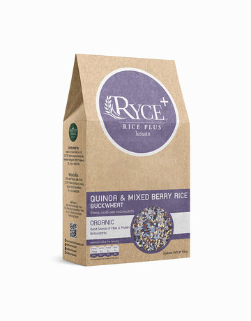 Quinoa & Berry Rice Blend with Buckwheat (500g) by The Healthy Choice Super Foods