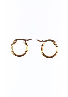 Maggie 1.5 cm Hoop Earrings by Dusty Cloud