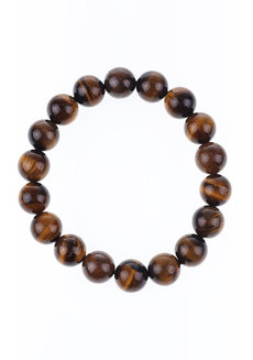 Tiger's Eye Bracelet (10mm) by Made By KCA