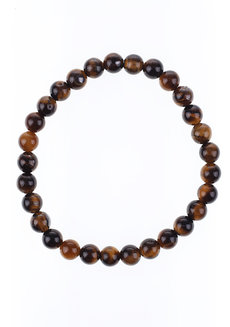 Tiger's Eye Bracelet (6mm) by Made By KCA