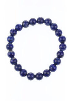 Lapis Lazuli Bracelet (8mm) by Made By KCA in Blue