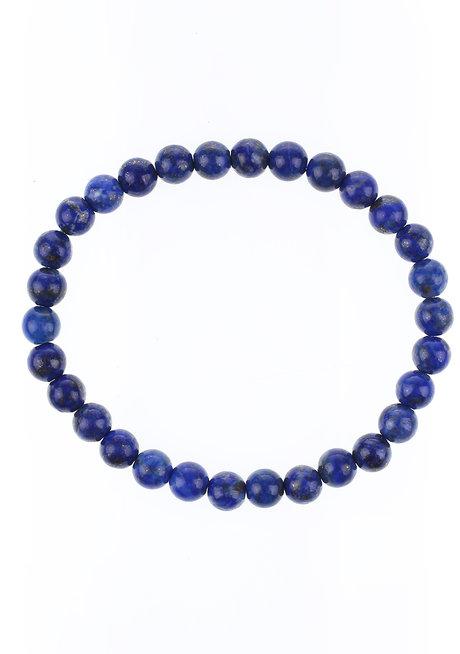 Lapis Lazuli Bracelet (6mm) by Made By KCA