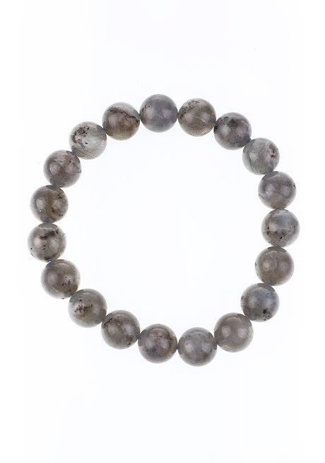 Labradorite Bracelet (10mm) by Made By KCA