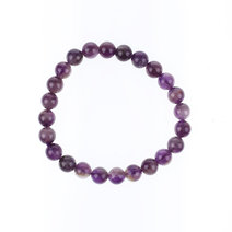 Amethyst Bracelet (8mm) by Made By KCA
