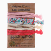 Winter Cactus Hair Ties by Little Tree Palette