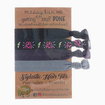 Sporty Chic Hair Ties by Little Tree Palette
