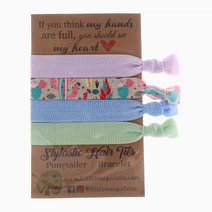 Pastel Cactus Hair Ties by Little Tree Palette
