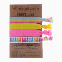 Pineapple Sunrise Hair Ties by Little Tree Palette