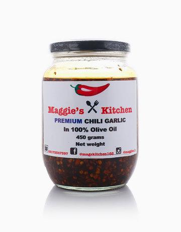 Premium Chili Garlic in 100% Olive Oil (450g) by Maggie's Kitchen
