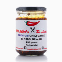 Premium Chili Garlic in 100% Olive Oil (230g) by Maggie's Kitchen in