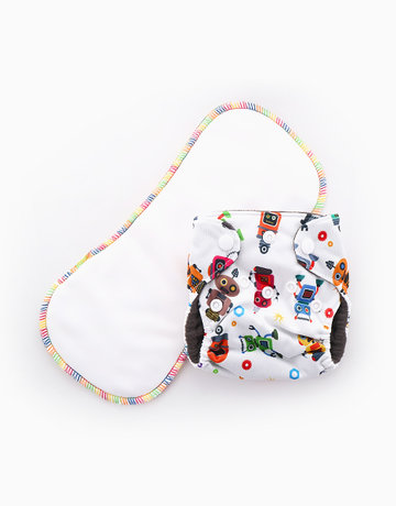 Cloth Diaper by Gubby and Hammy