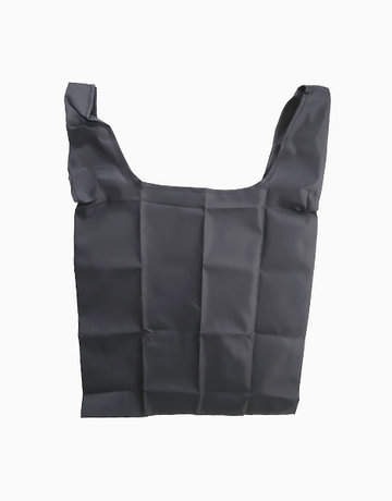 Black Basic Eco Bag by Always in Transit