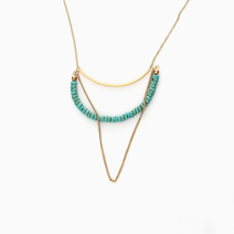 Curve Necklace by Yhansy