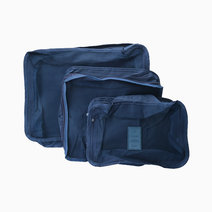 Navy Packing Cubes (Set of 3) by Always in Transit