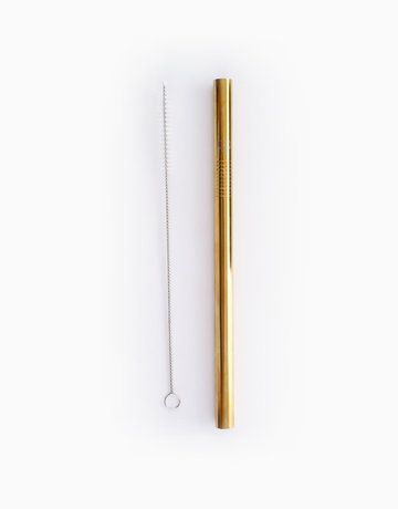 Deluxe Milktea Straight Straw by Gubby and Hammy