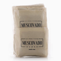 Gold Muscovado Sugar Sachets (20 Pcs.) by Kairos Farm Muscovado Sugar