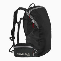 Chicobag Travel Pack rePETe by Chicobag in Jet Black