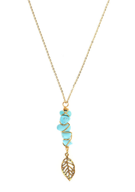 Turquoise Fae Necklace by Made By KCA