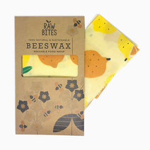 Raw Bites Beeswax Wraps Lemons (Set of 3) by Raw Bites
