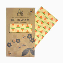 Raw Bites Beeswax Wraps Watermelon (Set of 3) by Raw Bites