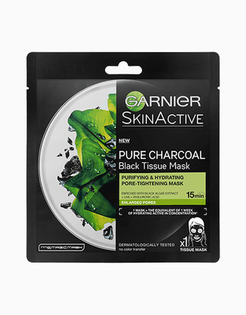 Serum Mask Pure Charcoal with Black Algae (Pore-Tightening) by Garnier
