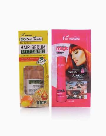 Bio-Nutrients Rice Hair Treatment with FREE Magic Serum (10ml) by BIOWOMAN