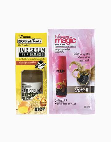 Bio-Nutrients Rice Hair Serum with FREE Magic Shampoo (30ml) by BIOWOMAN