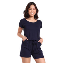 Sleeved Romper by Daily Design