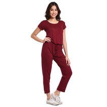 Sleeved Jumpsuit by Daily Design