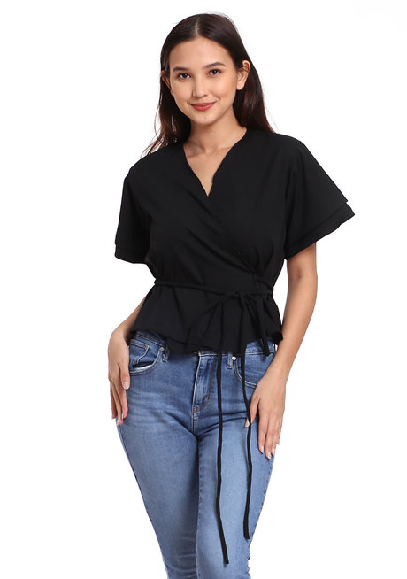 Wrap Around Top by That Chic Shop