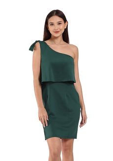 Hartford One Shoulder Dress by TM