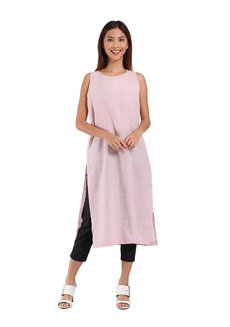 Maggie Dress by Manita in Pink in Free Size