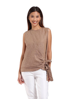 Nicole Top by Manita in Coffee in Free Size