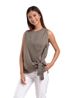 Nicole Top by Manita in Olive in Free Size